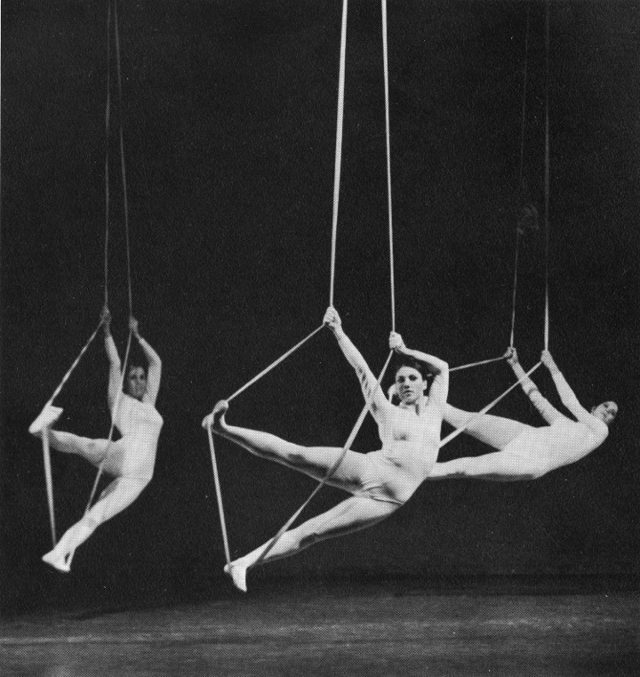 Ropes: Martha Myers, Experimental Movement Lab
